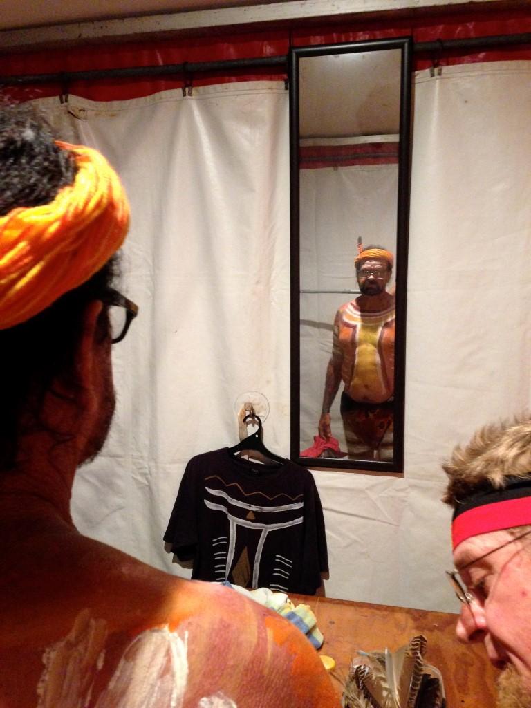 bunna dressing room